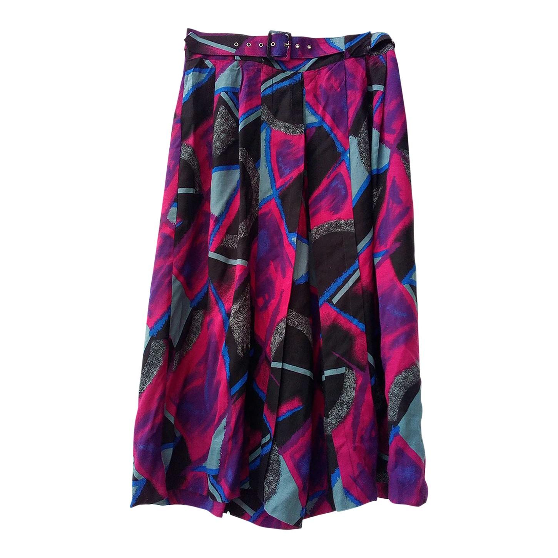 Jupe culotte multicolore