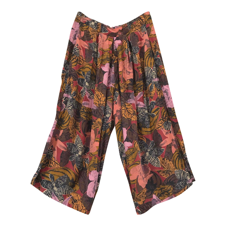 Jupe culotte taille haute