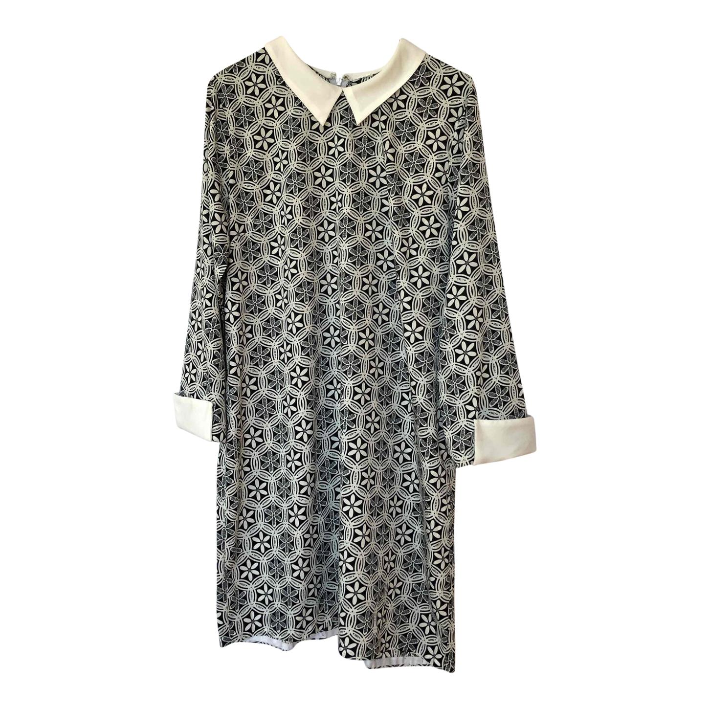 Mini-robe à motifs