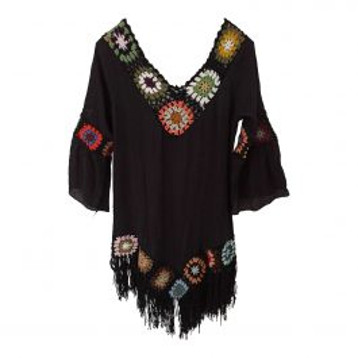 Mini robe en crochet