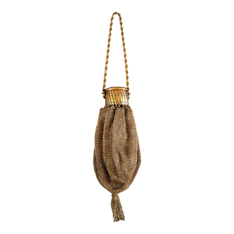 Mini sac doré Art Nouveau