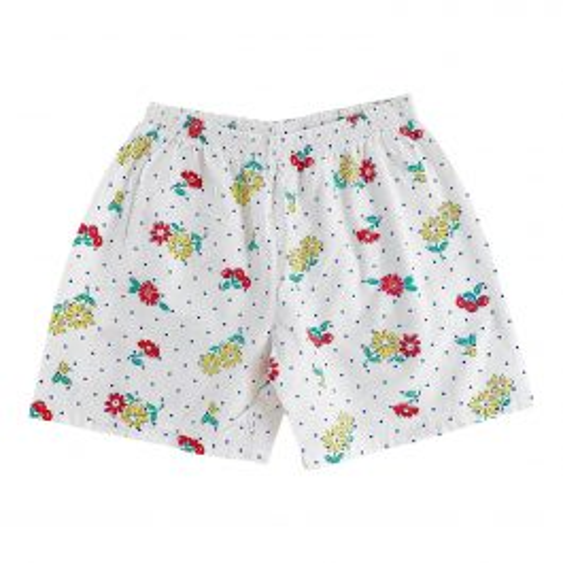 Mini short à fleurs