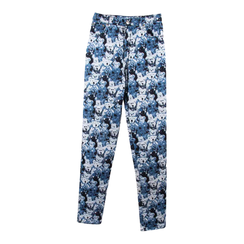 Pantalon à motifs
