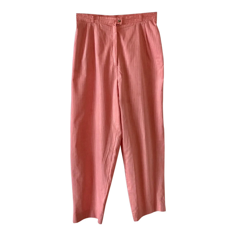 Pantalon à pinces en coton
