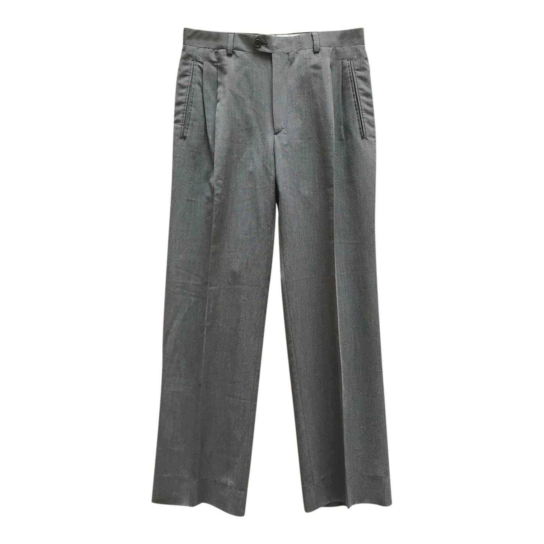 Pantalon à pinces gris