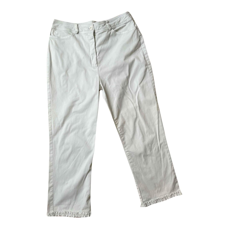 Pantalon court en coton