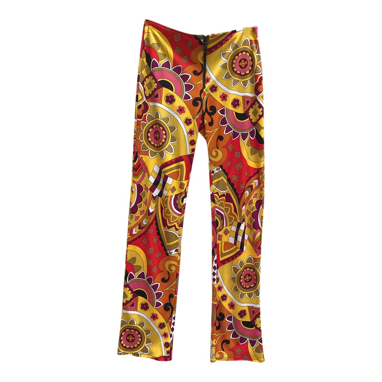 Pantalon imprimé 70's