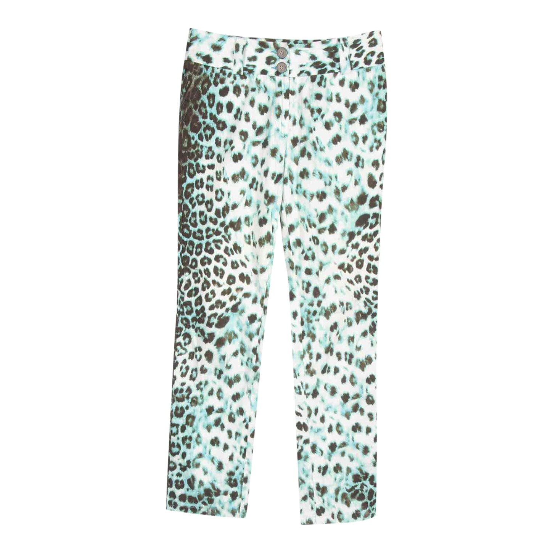 Pantalon léopard Roberto Cavalli