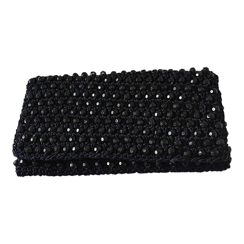 Pochette en crochet et perles
