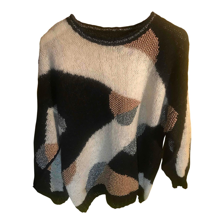 Pull en laine et soie