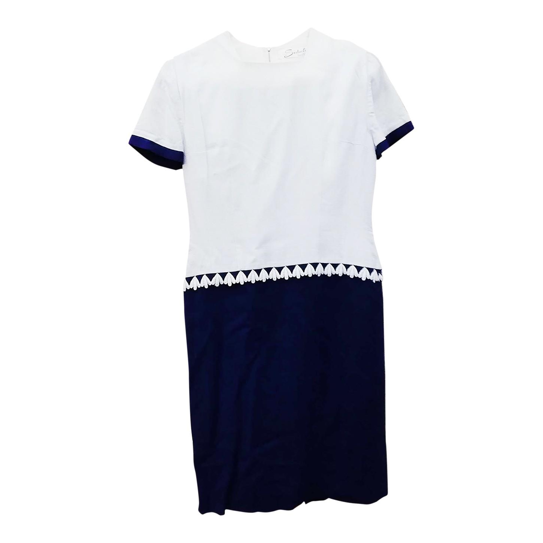 Robe bicolore 50's
