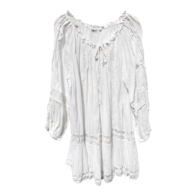 Robe bohème en coton
