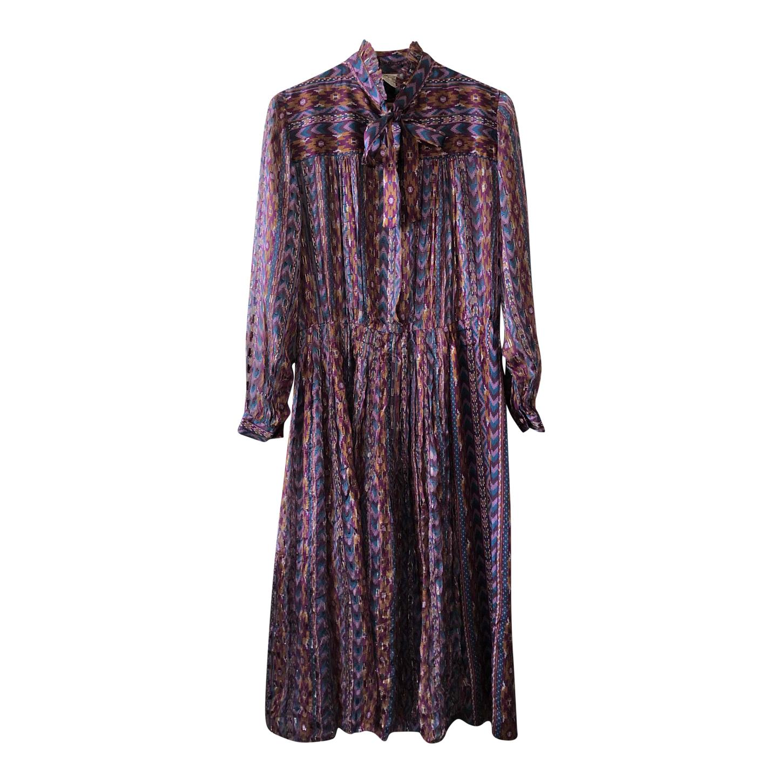 Robe bohème en soie
