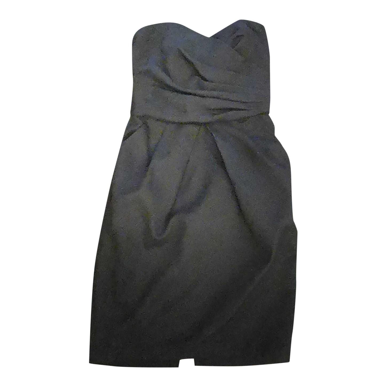 Robe bustier noire