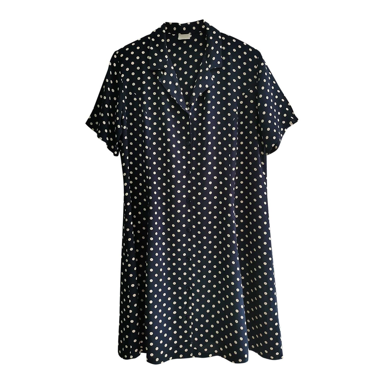 Robe chemise à pois