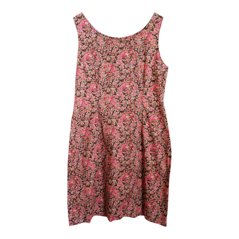 Robe en coton à fleurs