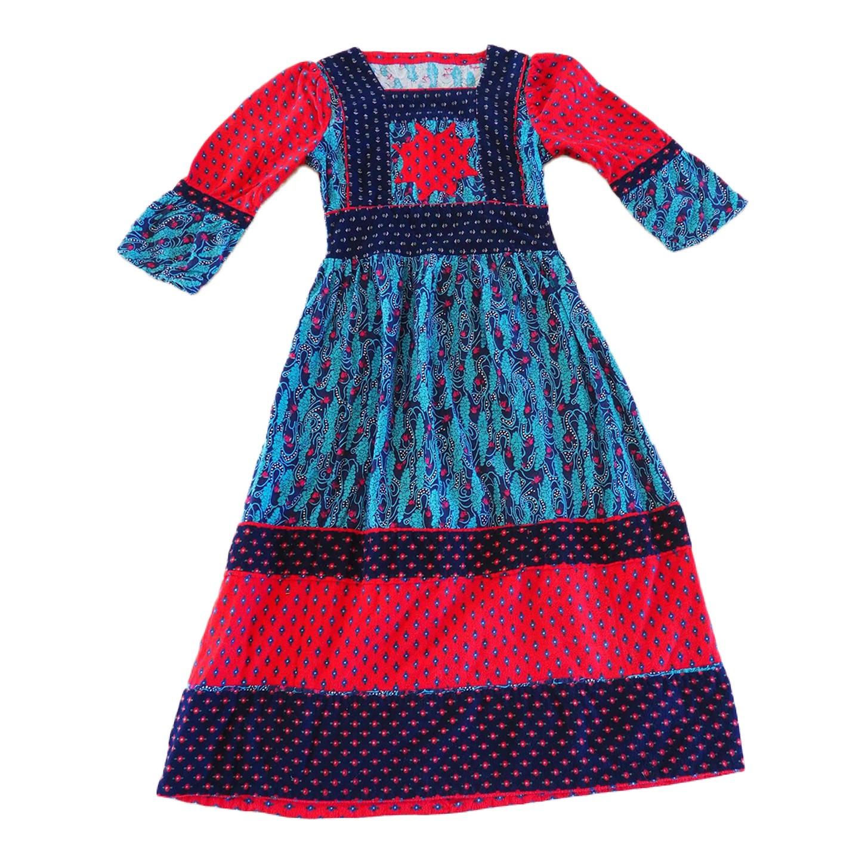 Robe patchwork 70s