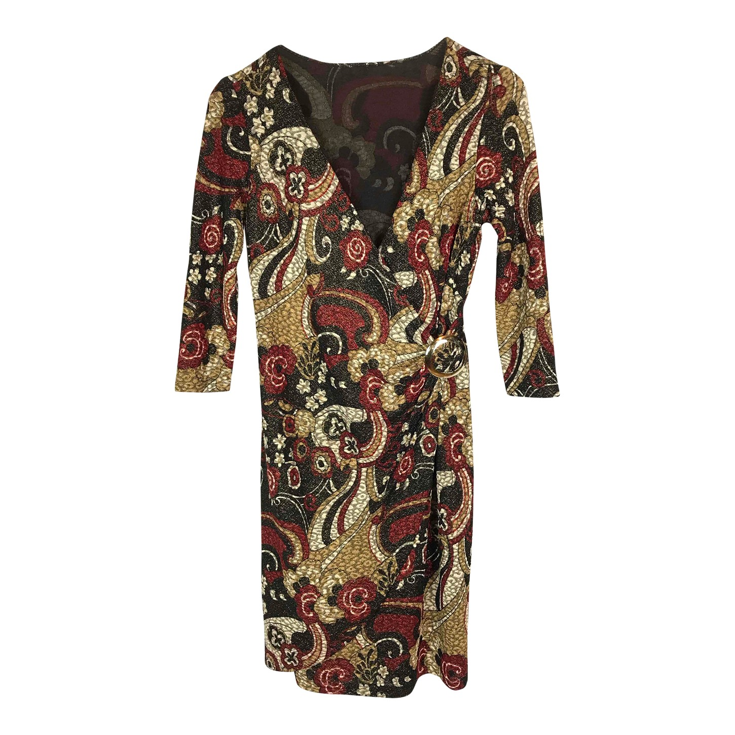 Robe portefeuille Paisley