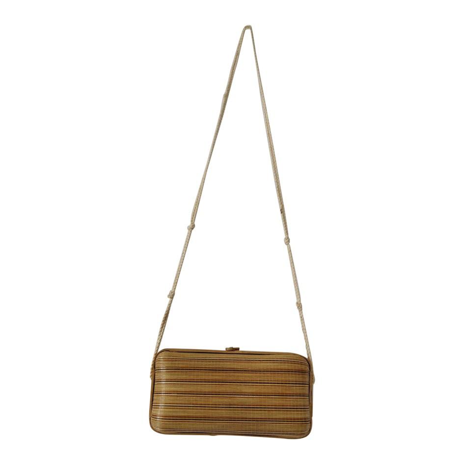 Sac bandoulière en bambou