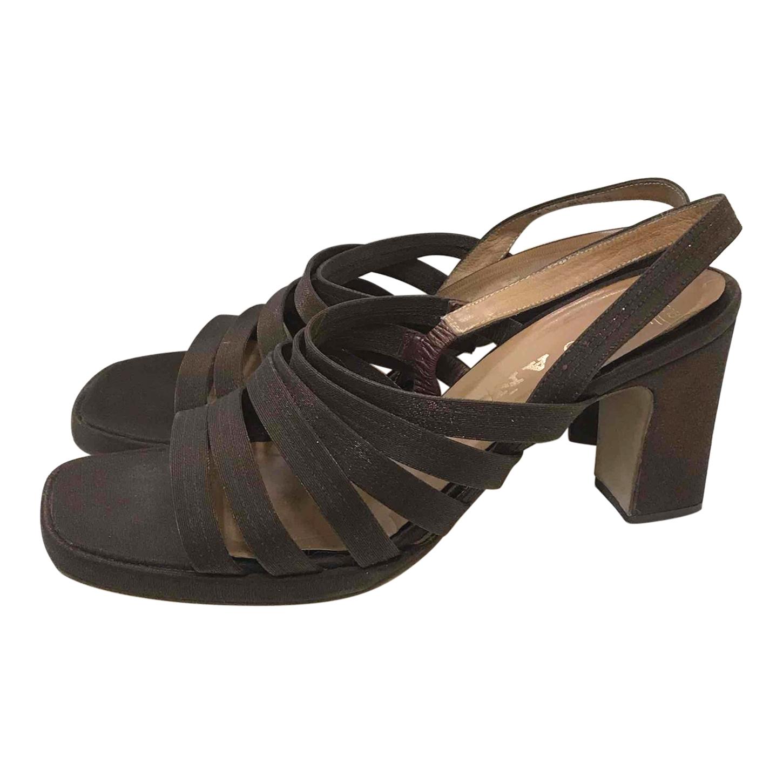 Sandales chocolat