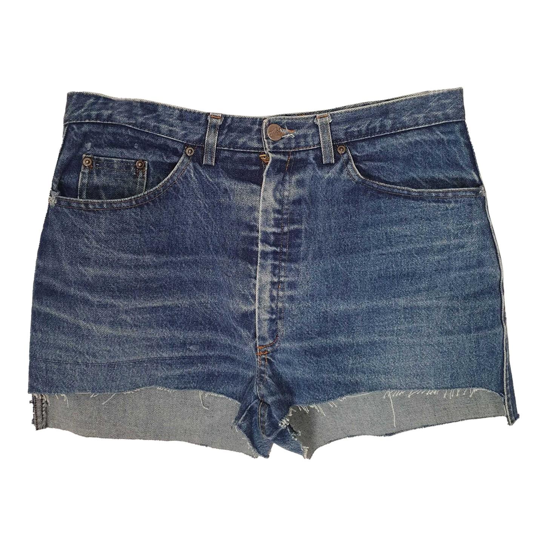 Short en jean 80s