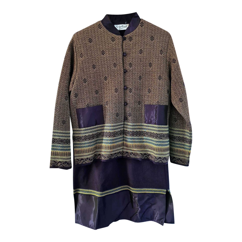 Tailleur jupe en laine mérinos