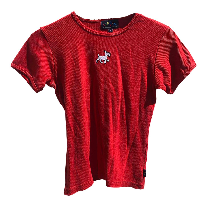 Tee-shirt brodé Tintin