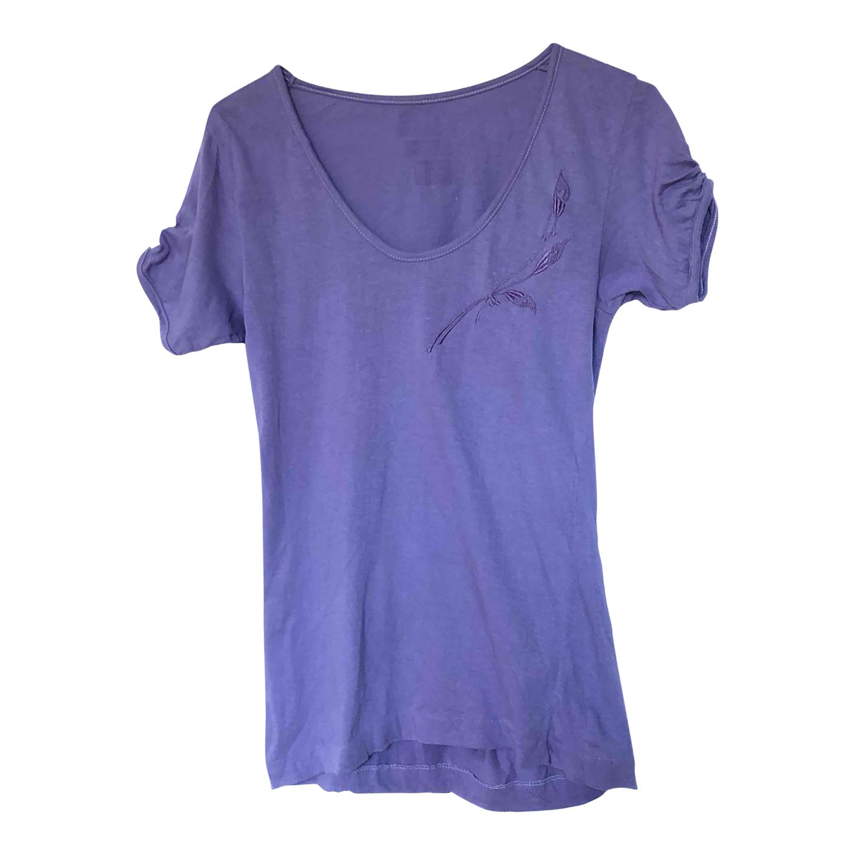 Tee-shirt en coton brodé