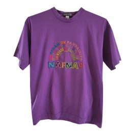 Tee-shirt violet 80's