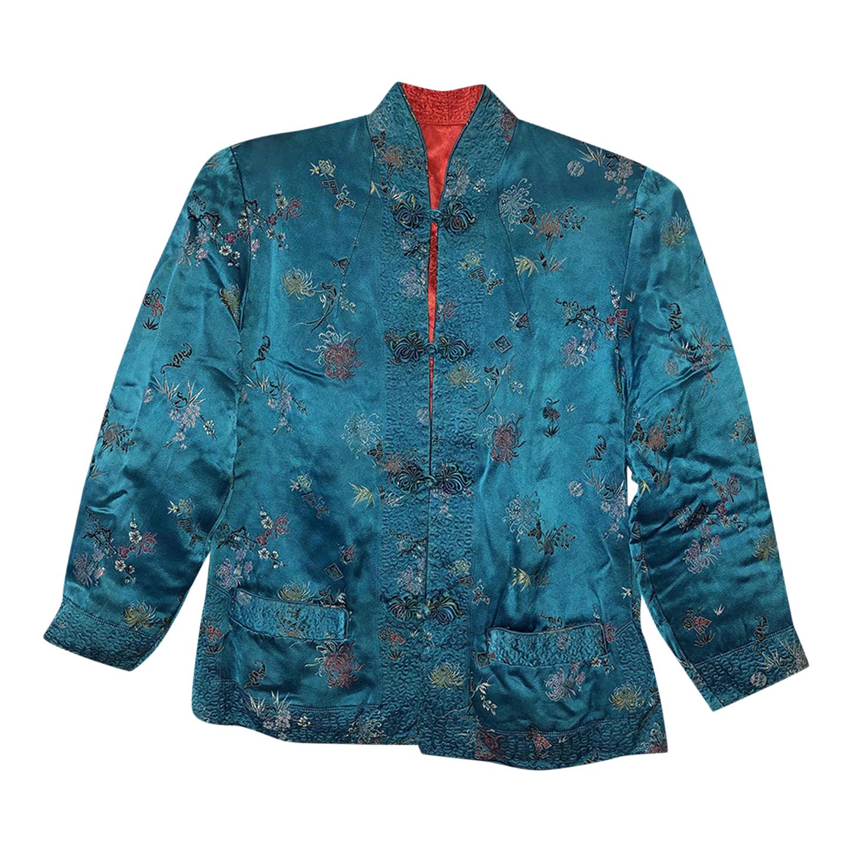 Veste chinoise en soie