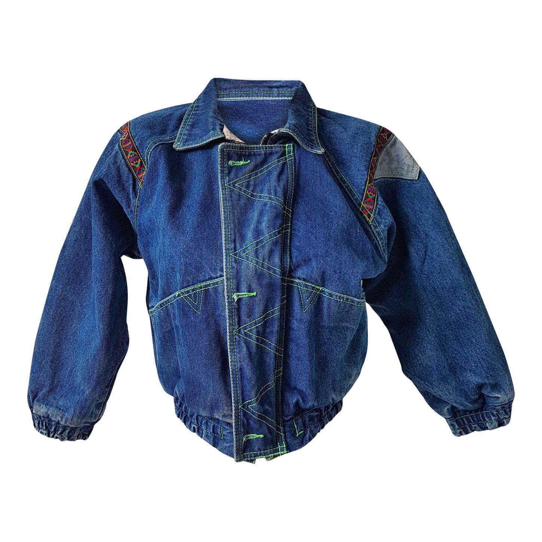 Veste en jean 80's