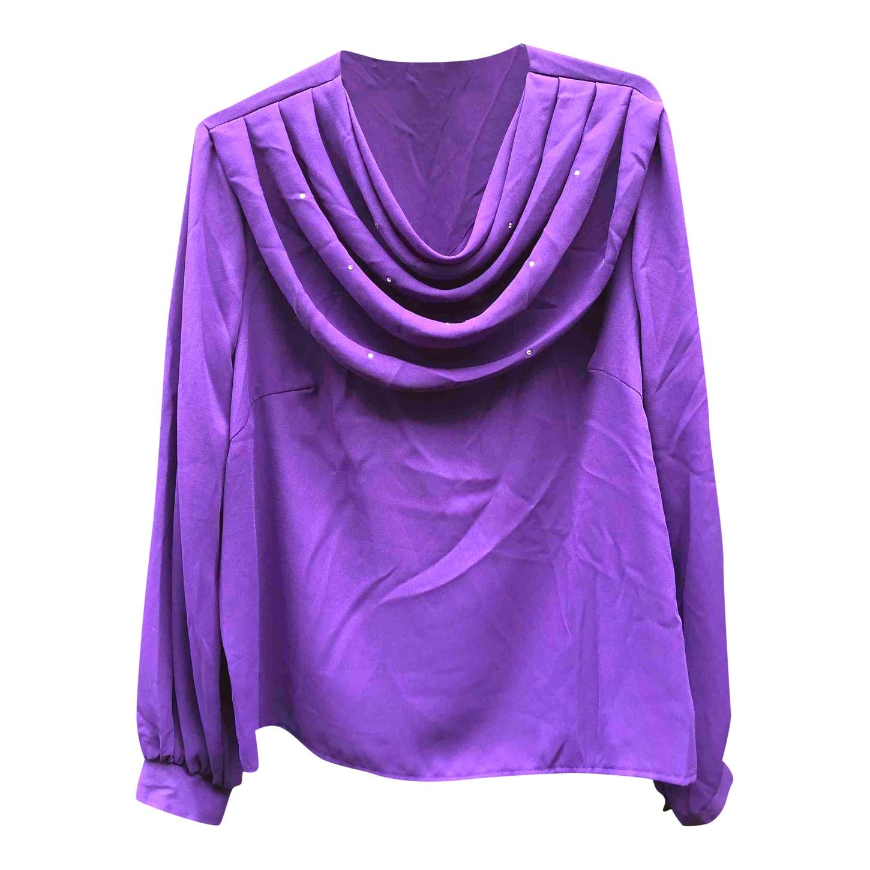 Blouse violette