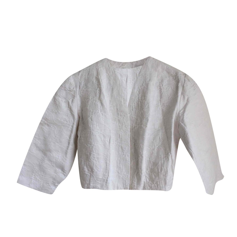 Veste courte en coton