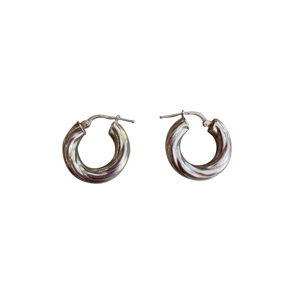 Boucles d'oreilles en argent