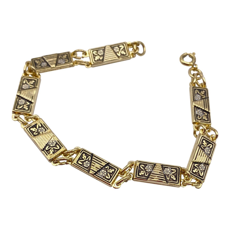 Bracelet en laiton 50's