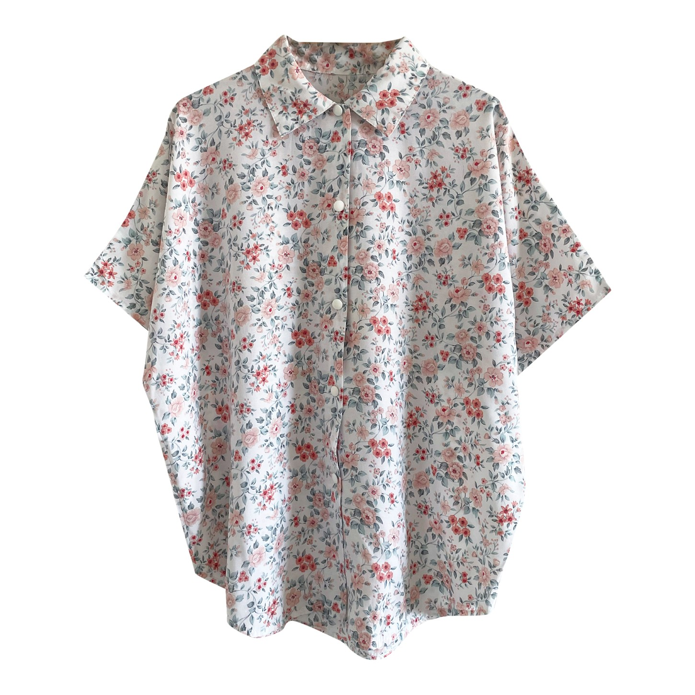 Chemise à fleurs 80's
