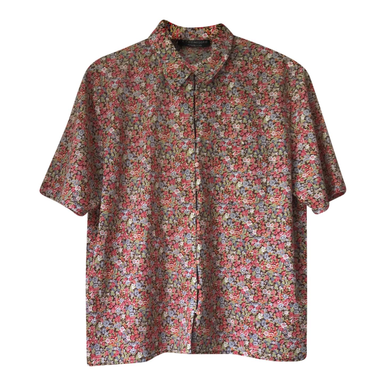 Chemise à fleurs Cacharel
