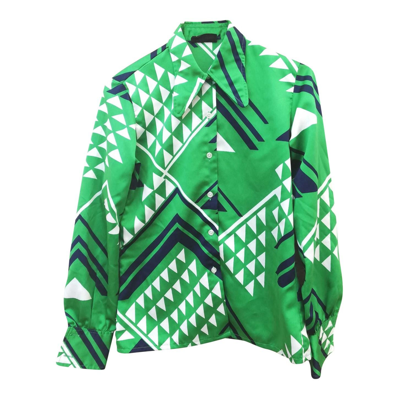 Chemise à motifs 70's