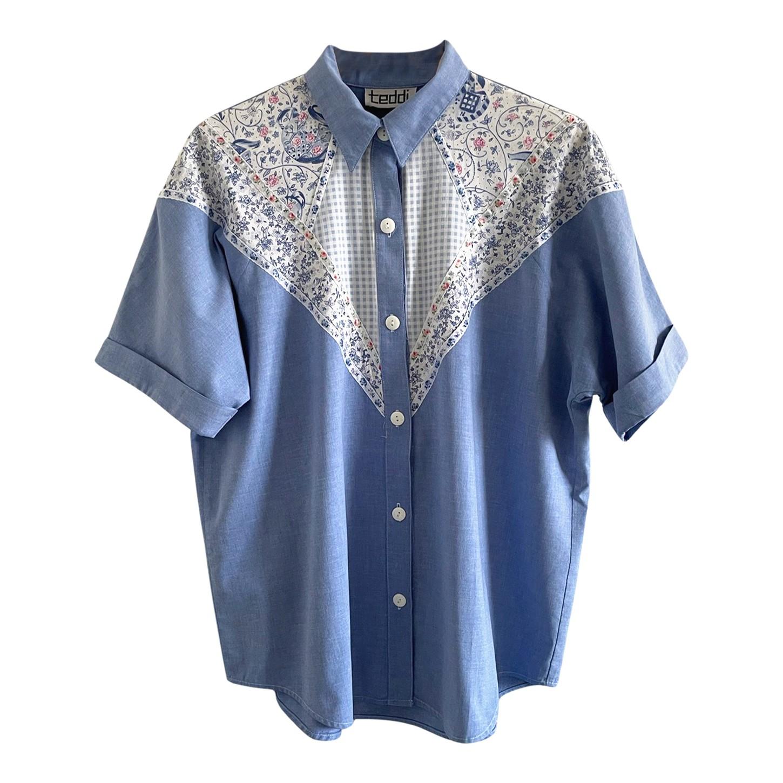 Chemise à motifs 80's