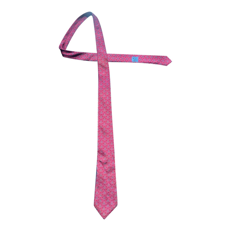 Cravate en soie Hermès