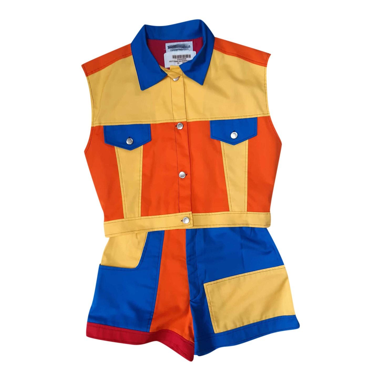 Ensemble veste et short multicolore
