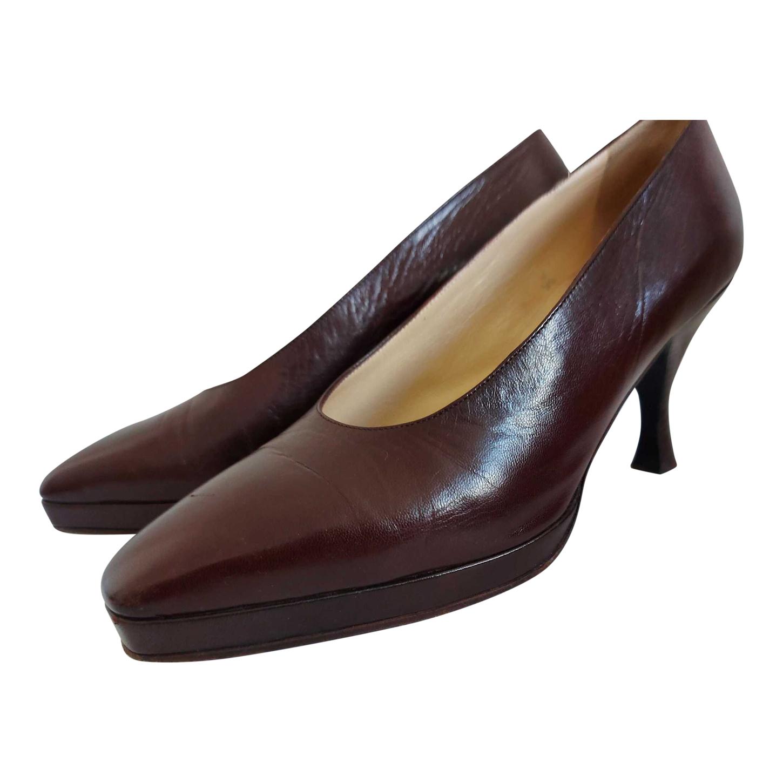 Escarpins en cuir Dior