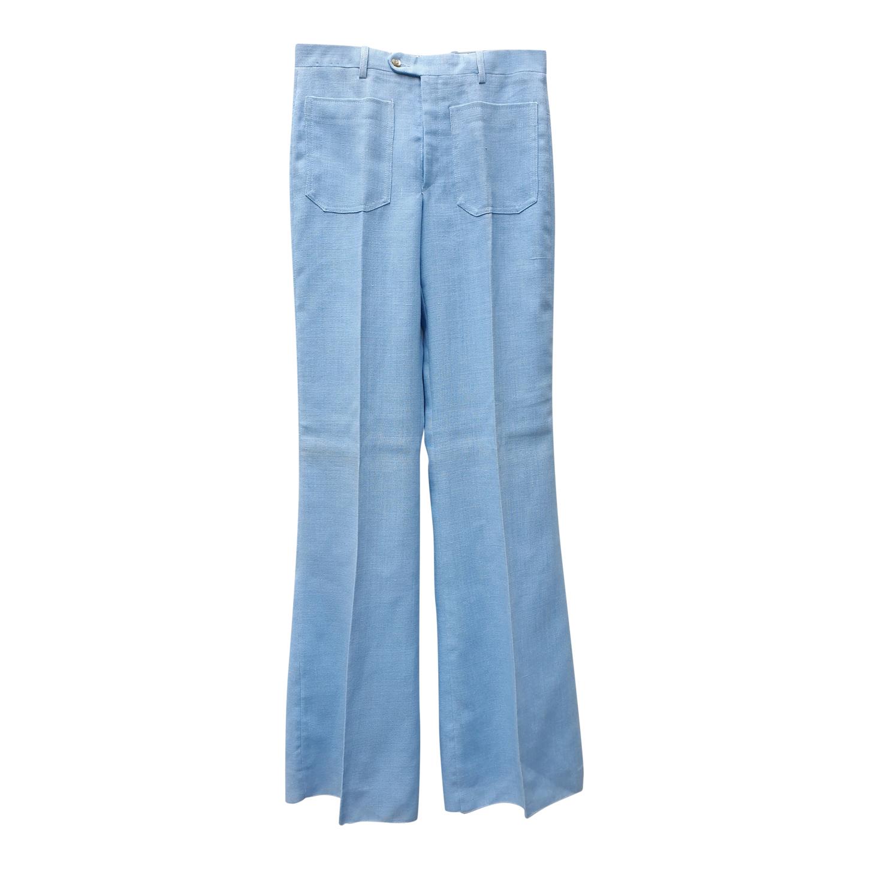 Flare bleu 70s