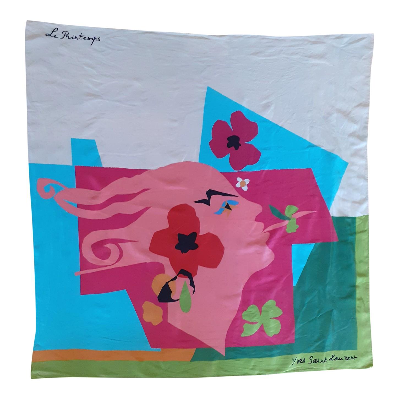 Foulard en soie Yves Saint Laurent