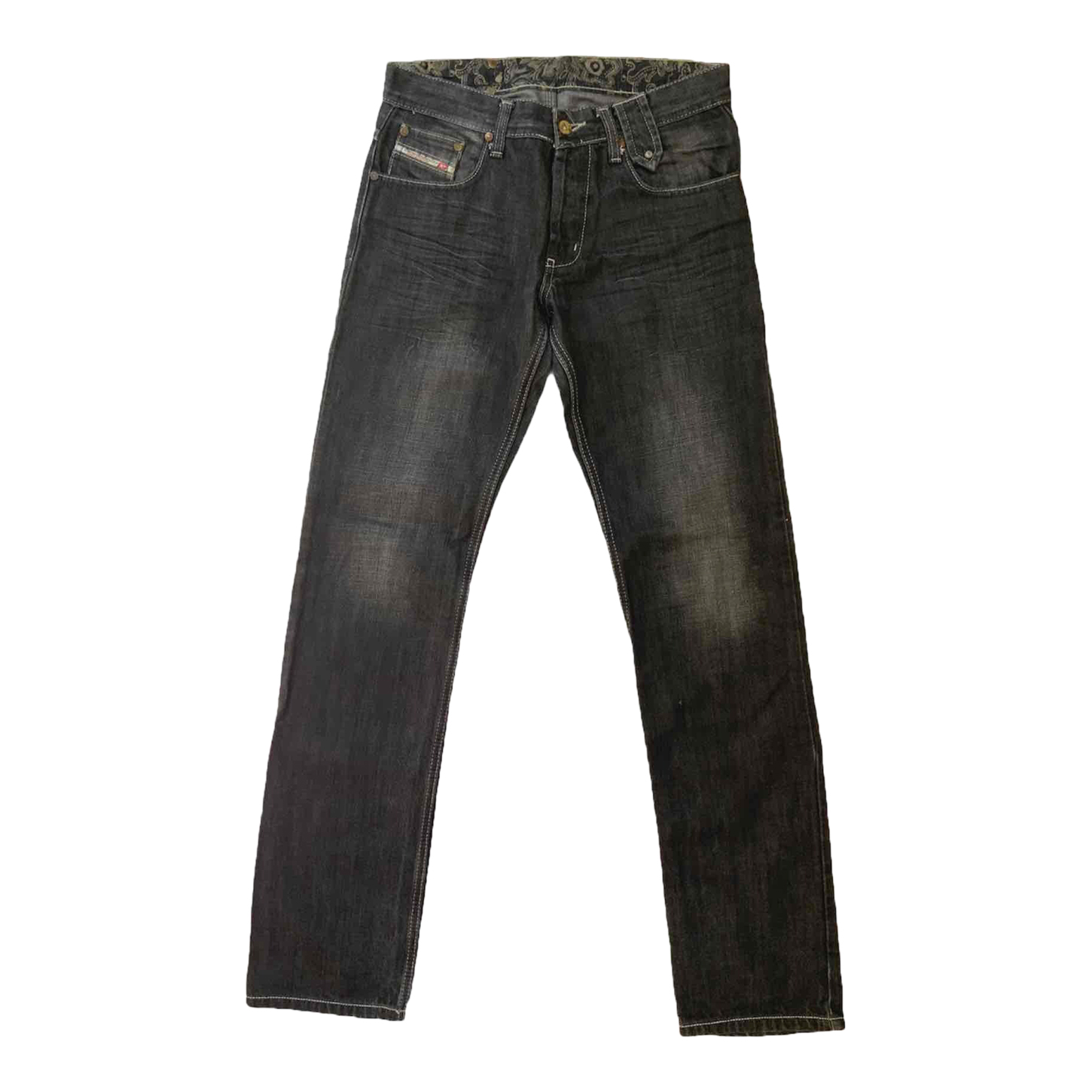 Jean taille basse 90s