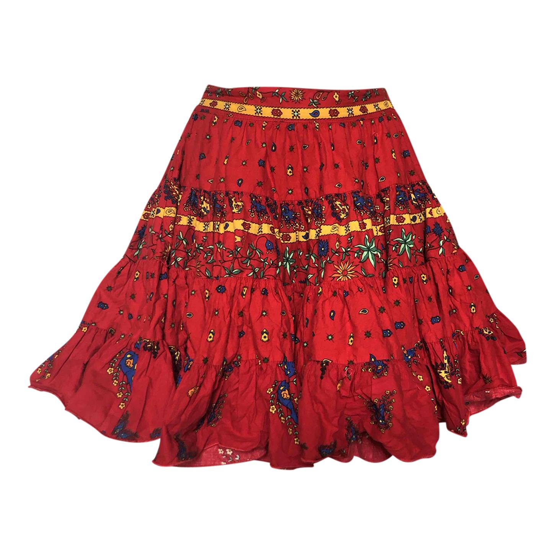 Provençal short skirt