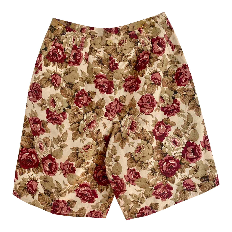 Jupe culotte à fleurs