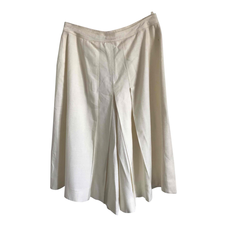 Jupe culotte en lin
