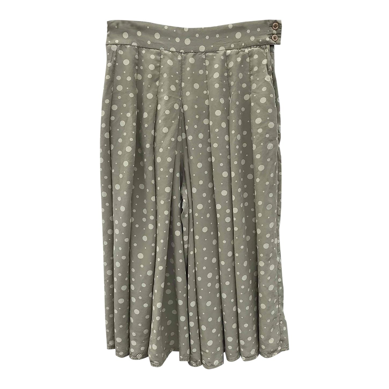 Jupe-culotte en soie