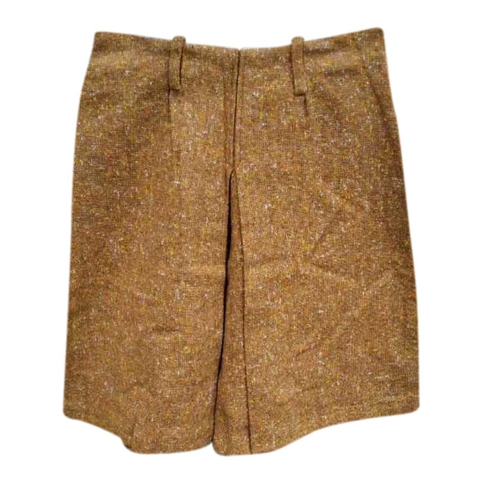 Jupe short en tweed